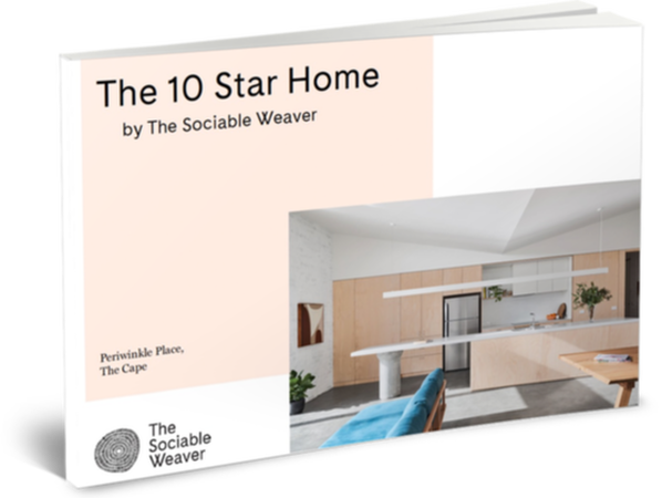 The 10 star home by the Sociable weaver house plan booklet